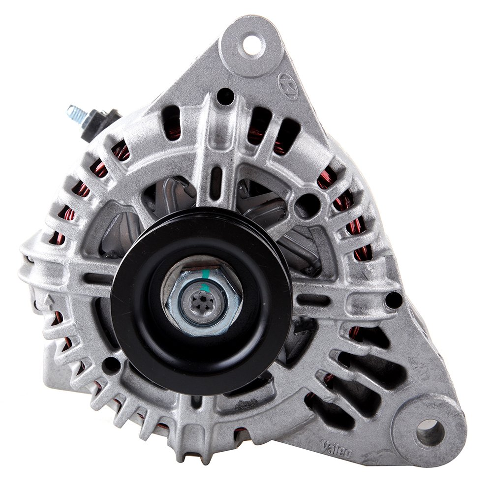 Amazon.com: OCPTY Alternators AMN0014 11015 fit for Hyundai Santa (Fe) 2002-2004 Kia Optima 2002 2003 2004 2006 2.7L 110A/12V 6-Groove Pulley IR/IF: ...