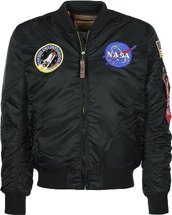 Alpha Industries Jacke MA 1 VF NASA RP, Größe:M, Farbe