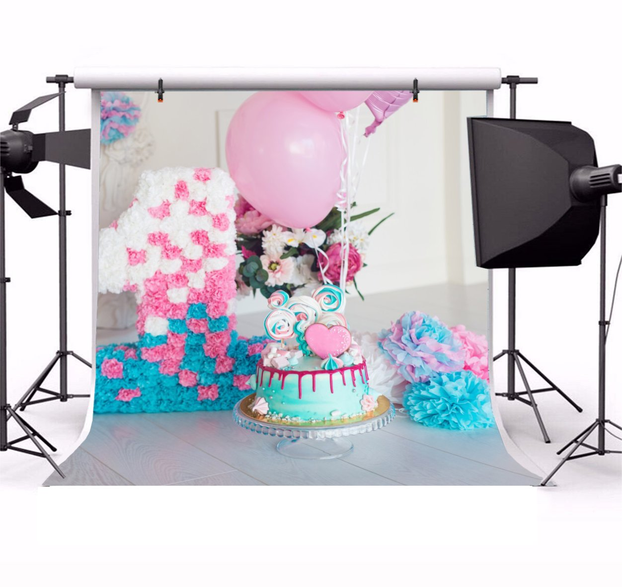 Sensational Party Backdrop Happy Birthday Birthday Backdrop Birthday Cake Funny Birthday Cards Online Aeocydamsfinfo