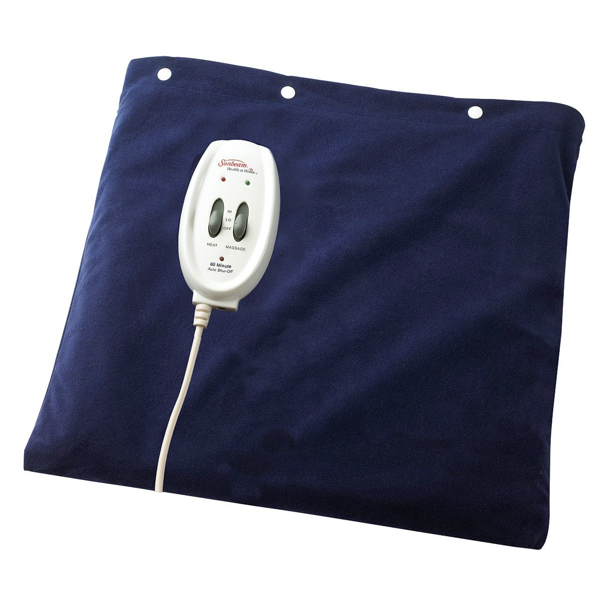 Amazoncom Sunbeam 730 811 Heating Pad plus Massage Health