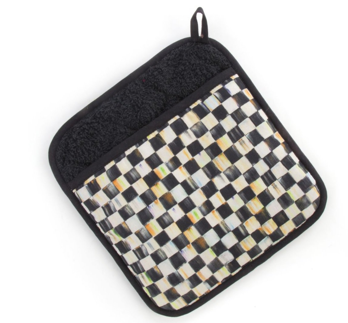MacKenzie-Childs Courtly Check Pot Holder by MacKenzie-Childs