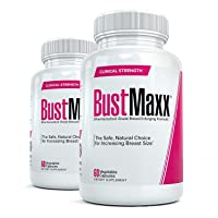 Bustmaxx All Natural Bust Enlarging & Enhancement Supplement Capsules, 120 Count