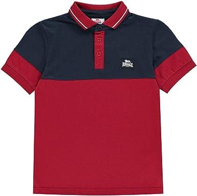Lonsdale Niños Jersey Camiseta Polo
