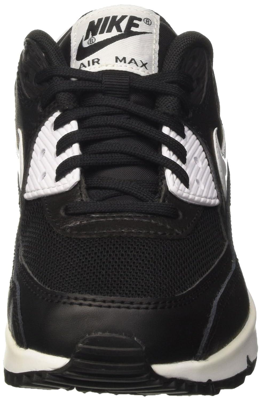 san francisco 7fda3 07bc7 Nike 616730-023 Women AIR MAX 90 Essential Black Metallic Silver White  NIKE   Amazon.ca  Shoes   Handbags