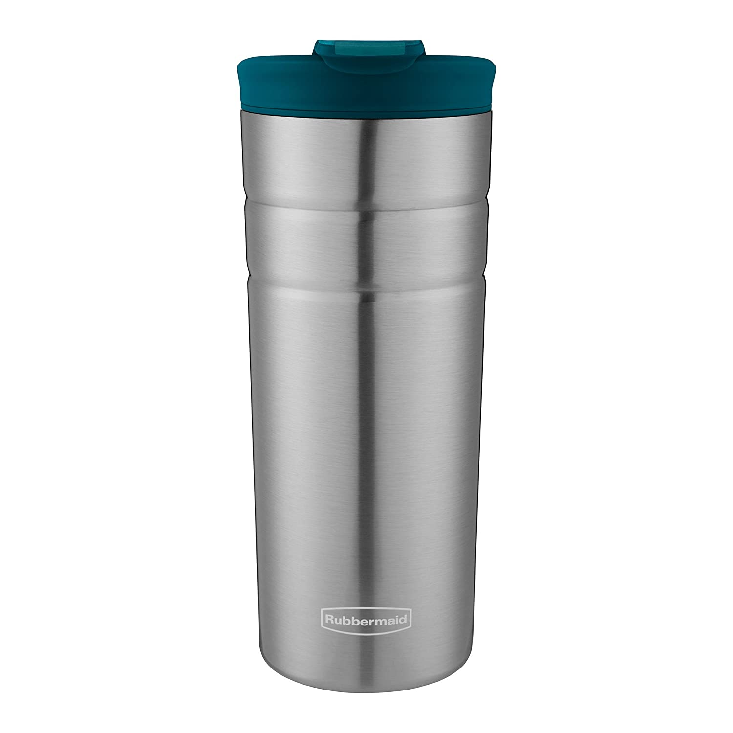 Rubbermaid Leak Proof Flip Lid Thermal Bottle, 16 oz., Lagoon