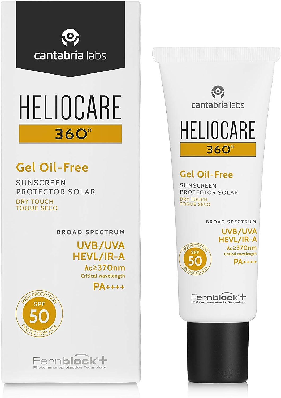 heliocare 360° de gel Oil Free SPF 5050ml Gel