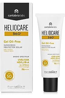HELIOCARE 360º Airgel Facial SPF 50+ 60 ml: Amazon.es: Salud y ...