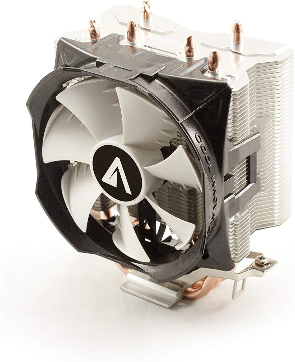 Abysm Snow III - Ventilador CPU de 3 Heatpipes, Color Negro ...