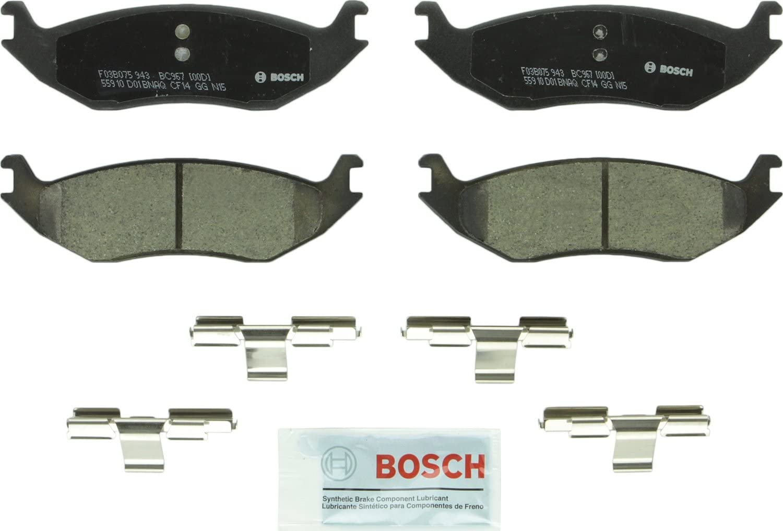 FRONT BRAKE PADS for DODGE SEMI METALLIC DURANGO RAM 1500 TRUCK 1500 VAN