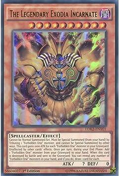 YUGIOH The Legendary Exodia Incarnate LDK2-ENY01 Ultra Rare LEGENDARY DECKS LDK2