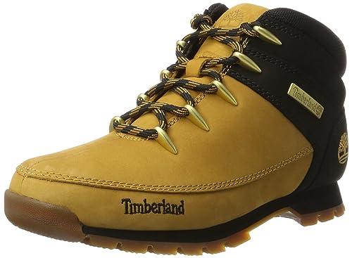 Timberland Men's Euro Sprint Hiker Chukka, Brown (Wheat), 13.5 UK