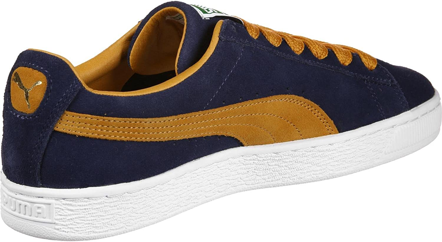 Puma Suede Super chaussures peacoatinca gold
