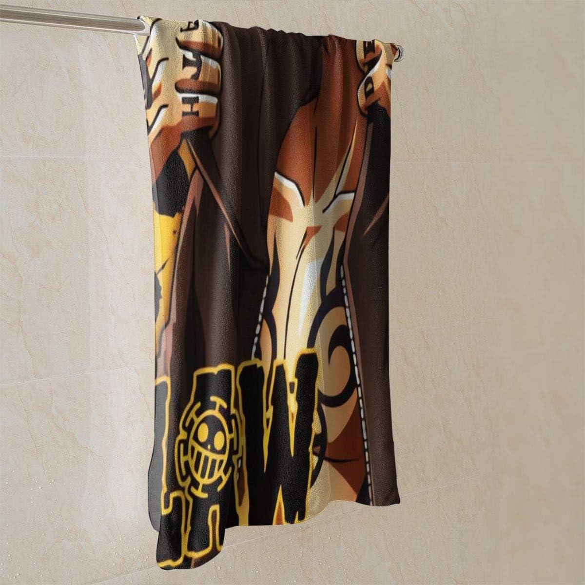 Tyueu Handt/ücher Trafalgar Law Soft Super Absorbent Quick Dry Hand Towel//Bath Towel//Beach Towel 27.5 X 17.5 Inch