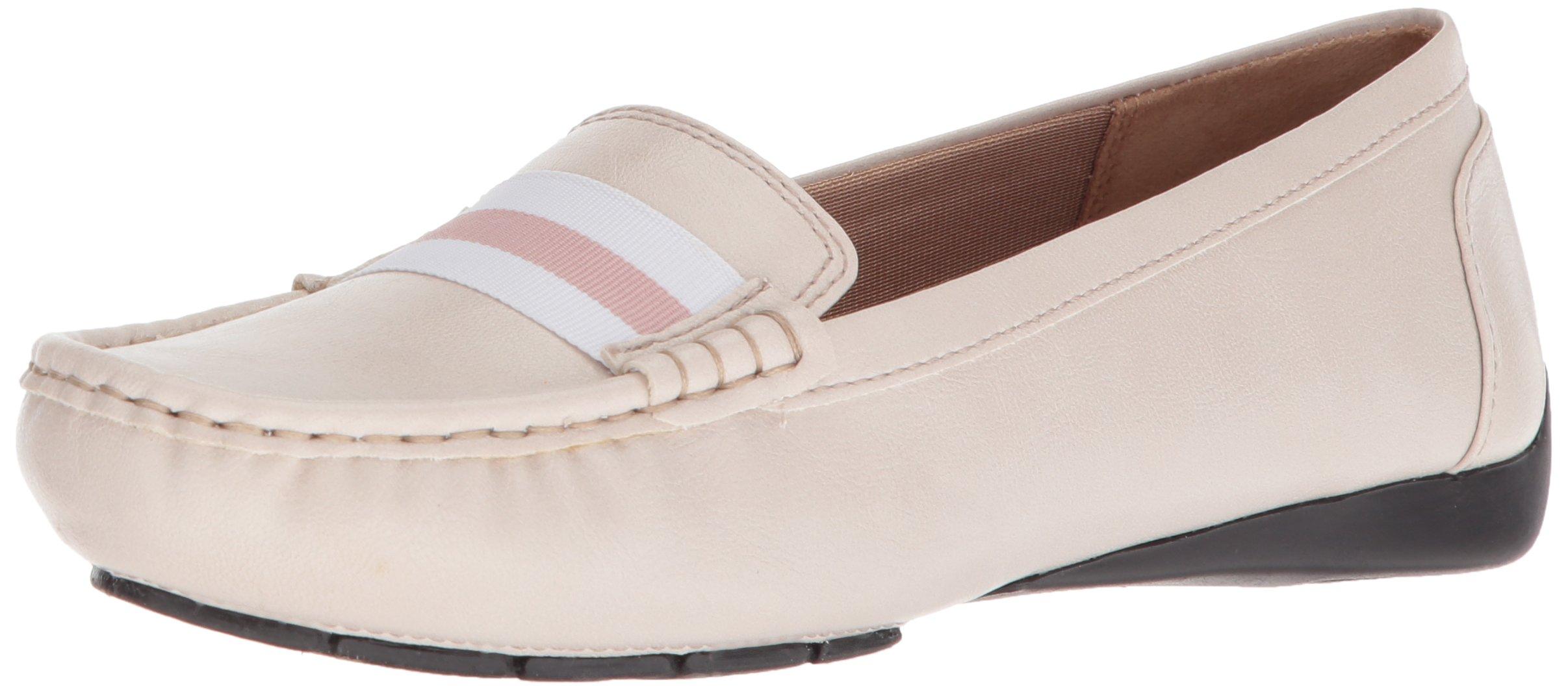 LifeStride Women's Vila Driving Style Loafer, Blush, 8.5 W US