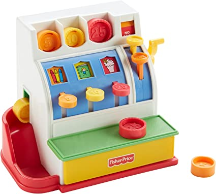 Fisher-Price Classics Retro Cash Register Toy Play MYTODDLER New