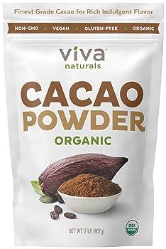 Viva Naturals 2lb Naturals Certified Organic Cocoa Powder