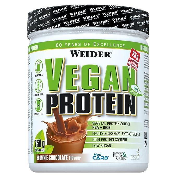 Weider Vegan Proteínas lata 750 g (Vainilla): Amazon.es: Salud y cuidado personal
