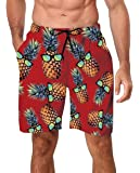 Freshhoodies Funny Mens Swim Trunks Quick-Drying Breathable Beach Board Shorts with Mesh Lining Swimwear Bathing Suits