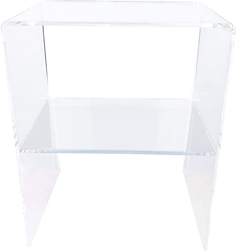 Clear Acrylic Decorative Nightstand