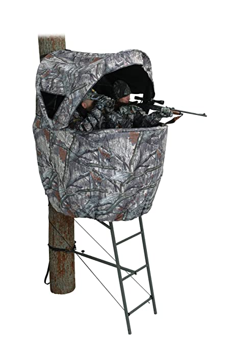 Amazon com : Ameristep Tree Stand Ladder Blind, RT APG HD