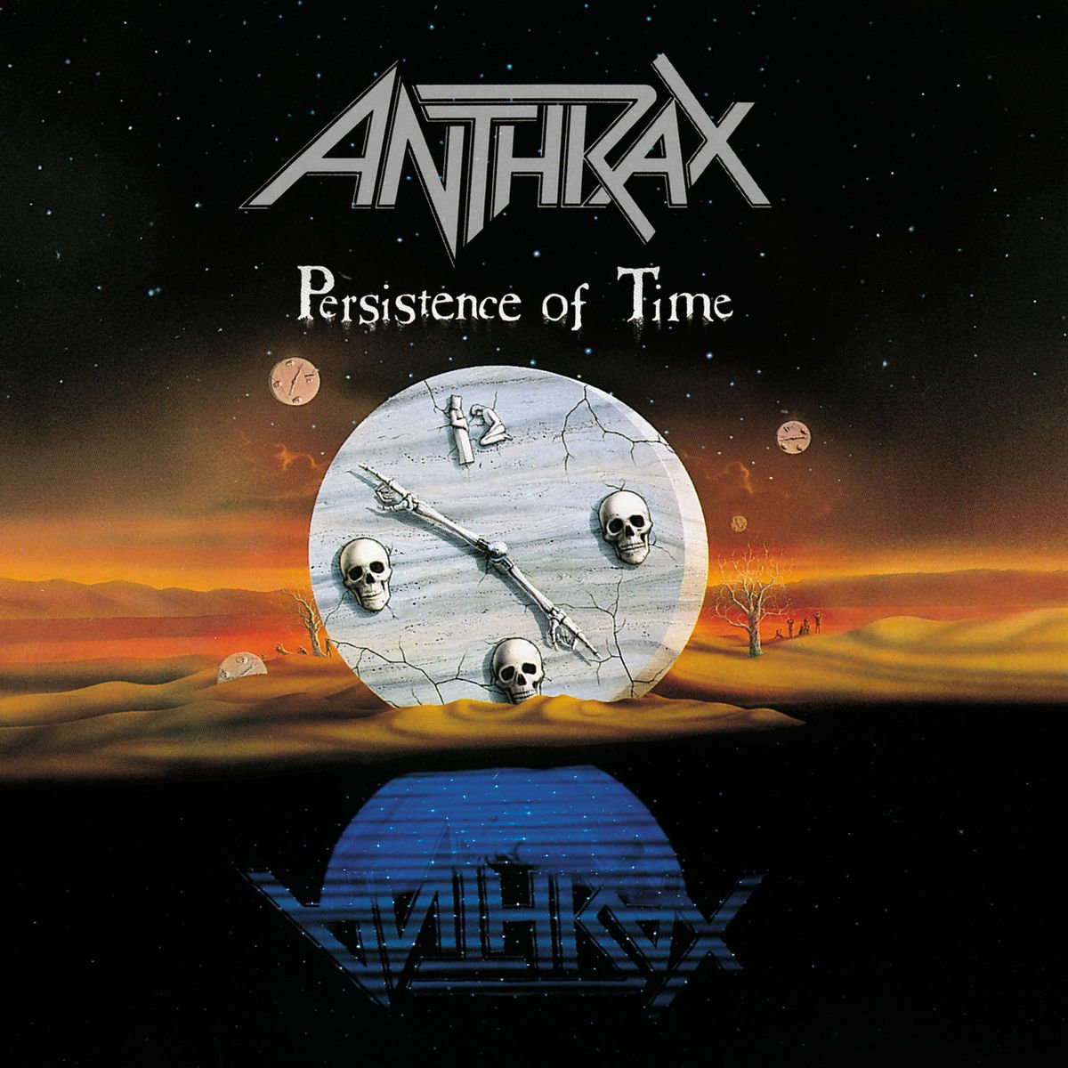 CD : Anthrax - Persistence of Time (CD)