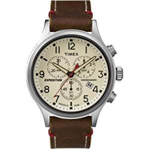 2ba0a2b18 Amazon.com: Timex Men's T49905 Expedition Rugged Field Chronograph ...