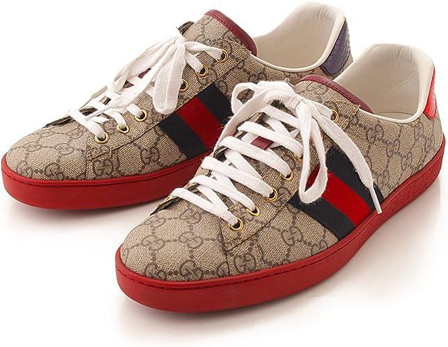 ACE Gucci GG Supreme Canvas Sneakers