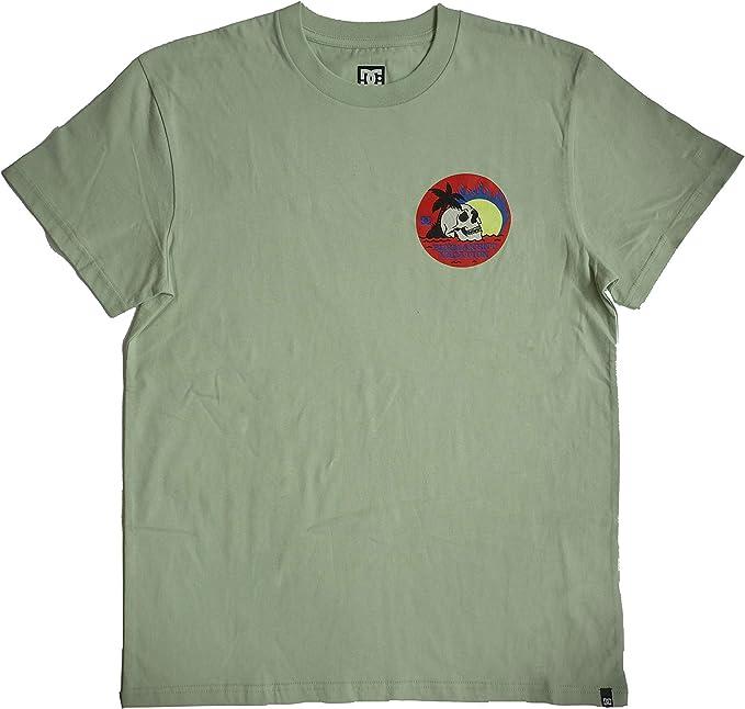 DC Permanent Vacation SS - Camiseta para Hombre - Color Sea Foam - Talla M: Amazon.es: Ropa y accesorios