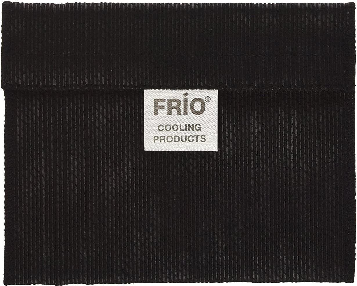 Frio Cooling Wallet- MINI - Black - Holds Single Insulin Vial or Eye Drop Bottle - Keeps insulin cool more than 45 hours without EVER needing refrigeration!--Low Shipping Rates--