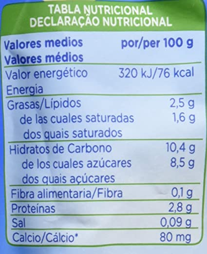 Hero Nanos Bolsita Natillas con Galleta - 18 Paquetes de 100 gr - Total: 1800 gr: Amazon.es: Alimentación y bebidas