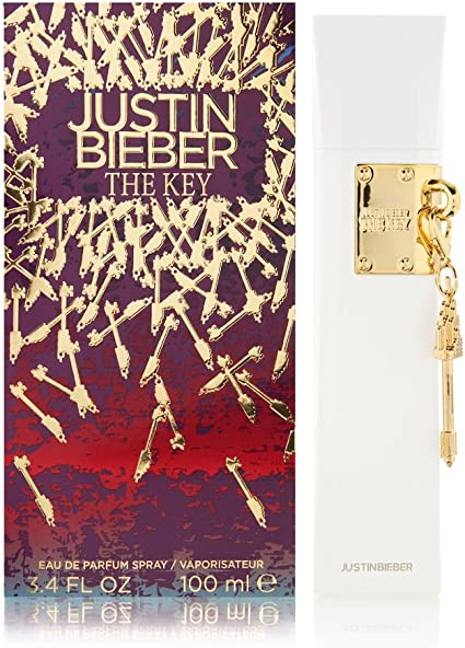 The Key by Justin Bieber Eau De Parfum Spray 3.4 oz for Women 100% Authentic by Justin Bieber