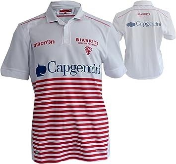 Camiseta, diseño del equipo de rugby de Macron Biarritz, color ...