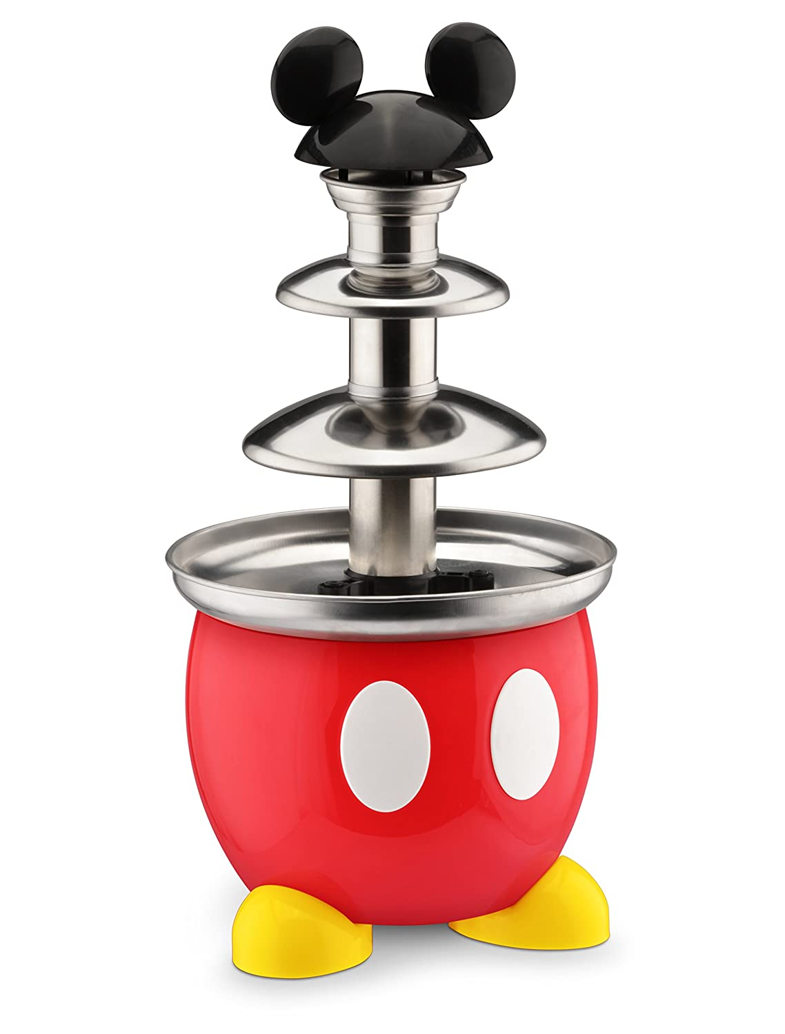 Mickey Mouse Kitchen Appliances Amazoncom Disney Dcm 50 Mickey Mouse Chocolate Fountain Red