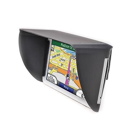 TFY Sunshade & Glare Visor for Garmin Nüvi GPS Navigators and Other GPS  Navigators (5 Inch)