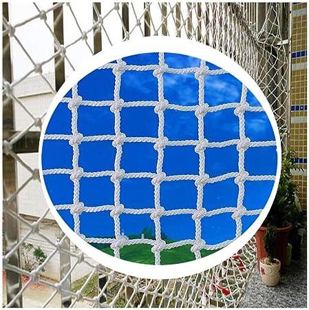Protección Jardín Niños Escalera Balcón Seguridad Acoplamiento De La Red Material De Poliéster Neto Carga De Camiones De Remolque Red Pasamanos De La Escalera Cerca Del Techo Del Restaurante Blanca: Amazon.es: Hogar