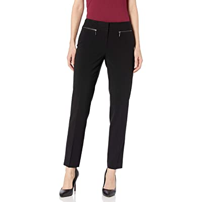 Nine West Women's Solid Slim Pant at Women's Clothing store