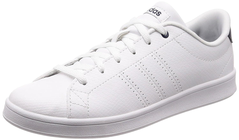 adidas Advantage Clean QT, Zapatillas Para Mujer 40 2/3 EU|Blanco (Ftwbla / Ftwbla / Maruni 000)