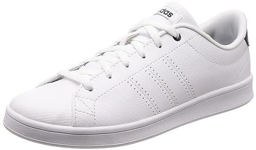 reputable site 98f6e 73abe adidas Advantage Clean Qt, Zapatillas de Deporte para Mujer Amazon.es  Zapatos y complementos