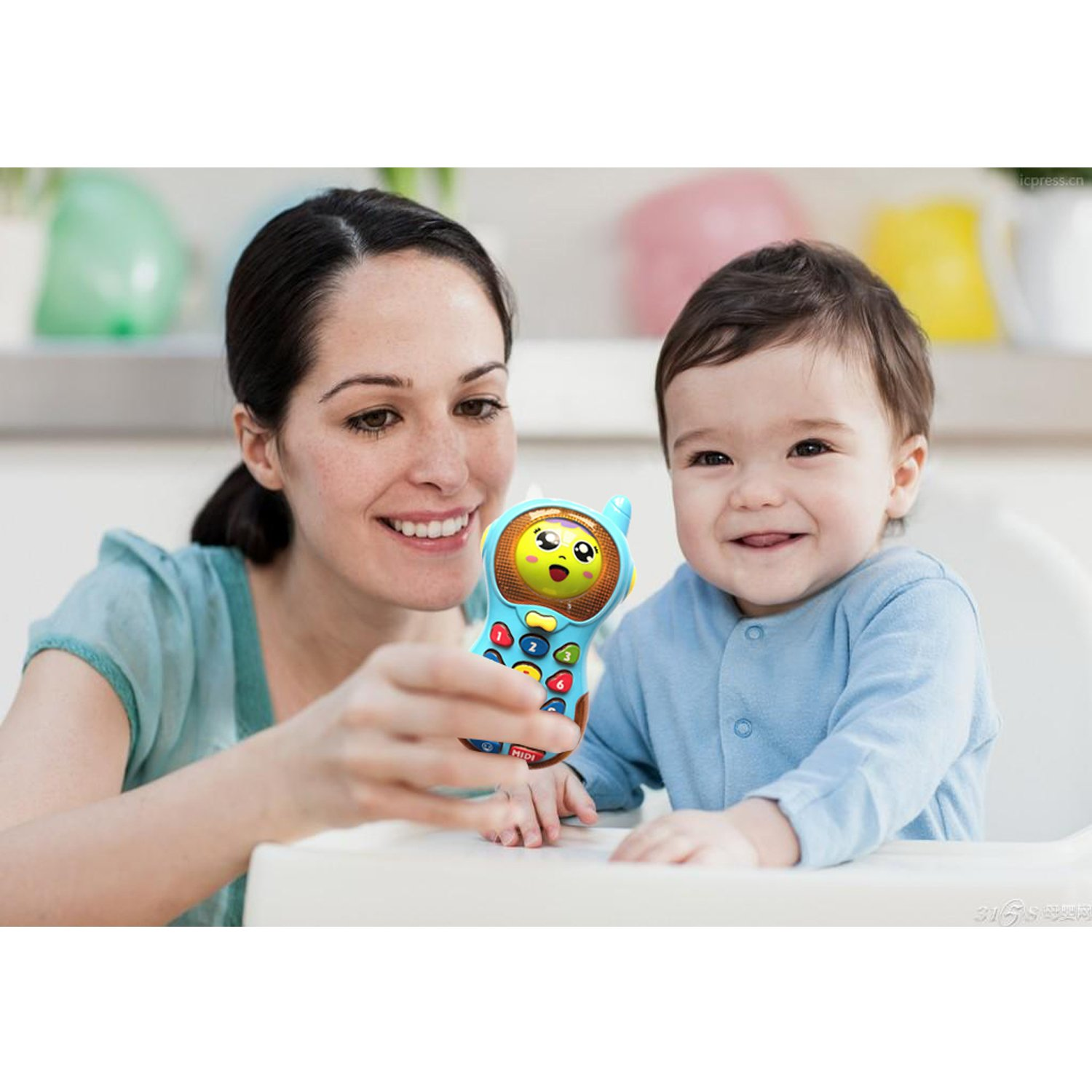 SUGOO Toys Phone For 6 Months Old Boys Baby Girl Toy 1 Year