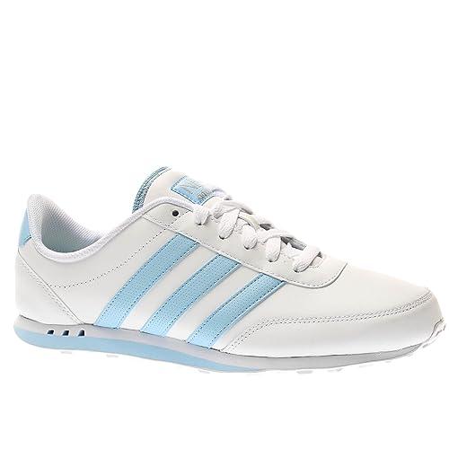 ADIDAS Adidas v racer leather w zapatillas moda mujer: ADIDAS: Amazon.es: Zapatos y complementos