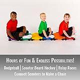 Cosom Scooter Board Set, 12 Inch Children's Sit