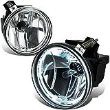 Dodge Dakota / Durango Pair of Bumper Halo Ring Fog Lights+CCFL Power Inverter (Chrome Lens)
