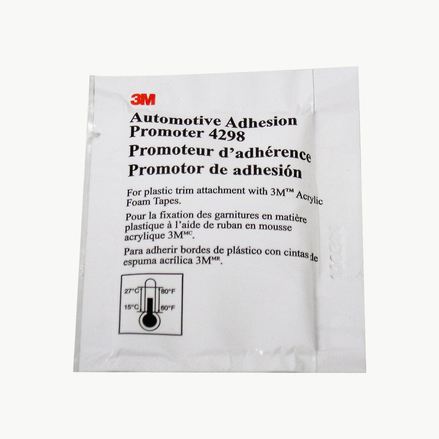 3M 4298 Adhesion Promoter, 25 Sponge Applicators (Choose 3, 5 or 25 Qty)
