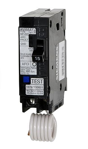 Murray MP120AFC 20-Amp 1 Pole 120-Volt Combination Type Arc Fault Circuit Interrupter