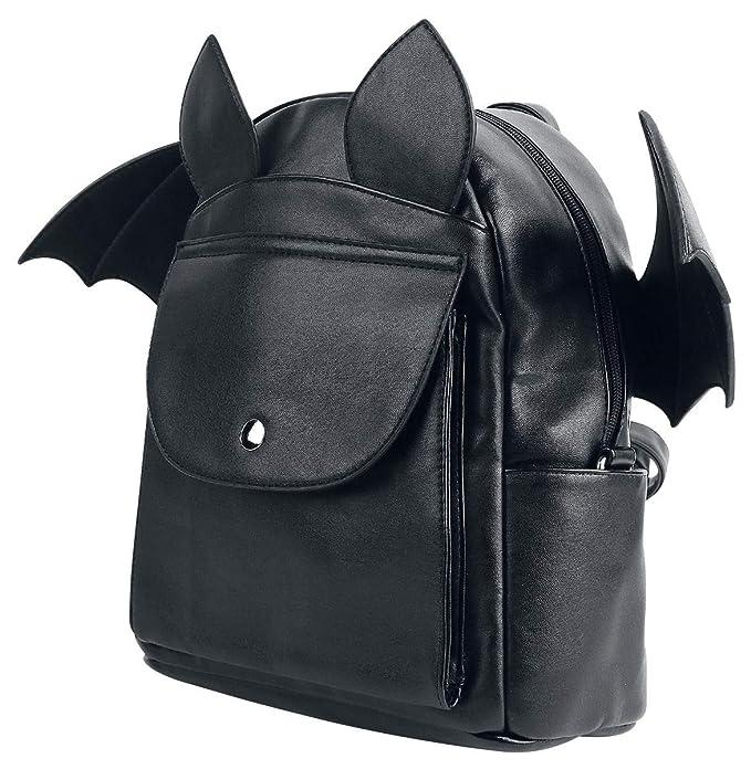 Amazon.com   Banned Waverley Alternative Bat Wing Backpack - Black One Size    Casual Daypacks f2736a5f7e