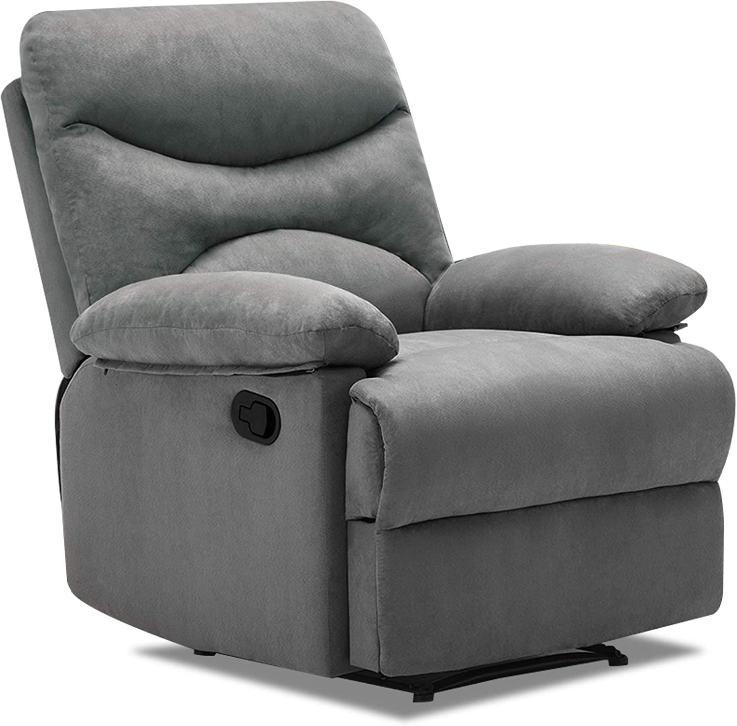 Amazon Com Windaze Recliner Chair Massage Recliner Chair Microfiber Ergonomic Living Room Chairs With Remote Control Heating Modern Recliner Sofa Seat Home Theater Seating Recliner Chair Grey Kitchen Dining