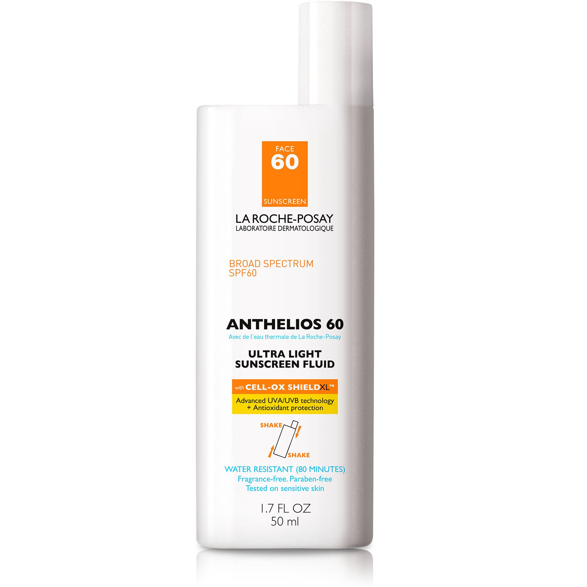 La Roche-Posay Anthelios Ultra Light Sunscreen Fluid SPF 60, 1.7 Fl. Oz.