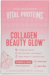 product image for Vital Proteins Collagen Beauty Glow - Strawberry Lemon Stick Packs - 14ct