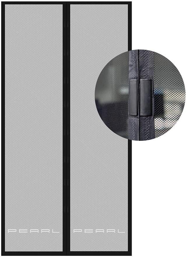 Kellert/üren Und Balkont/üren T/ür Mit Magnetischem Fliegenvorhang Moskitonetz Automatisch Geschlossen,Ideal F/ür T/üren Fliegengitter T/ür Insektenschutz