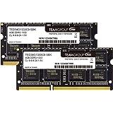 Team ノートPC用メモリ SO-DIMM-DDR3 永久保証 ECOパッケージ (1333Mhz PC3-10600 1.5V 4GBx2)
